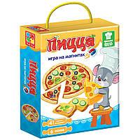 """Развивающая игра на магнитах """"Пицца"""", Vladi Toys, VT3004-08, фото 1"""