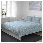 IKEA JATTEVALLMO Комплект постельного белья 200x200/50x60 см (303.996.92), фото 5