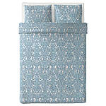 IKEA JATTEVALLMO Комплект постельного белья 200x200/50x60 см (303.996.92), фото 6