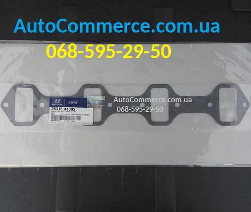Прокладка впускного коллектора Hyundai HD65, HD72, Богдан А069, Хюндай HD (2831541002), фото 2