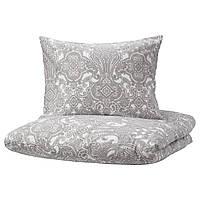 IKEA JATTEVALLMO Комплект постельного белья 150x200/50x60 см (704.061.48)