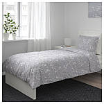 IKEA JATTEVALLMO Комплект постельного белья 150x200/50x60 см (704.061.48), фото 7