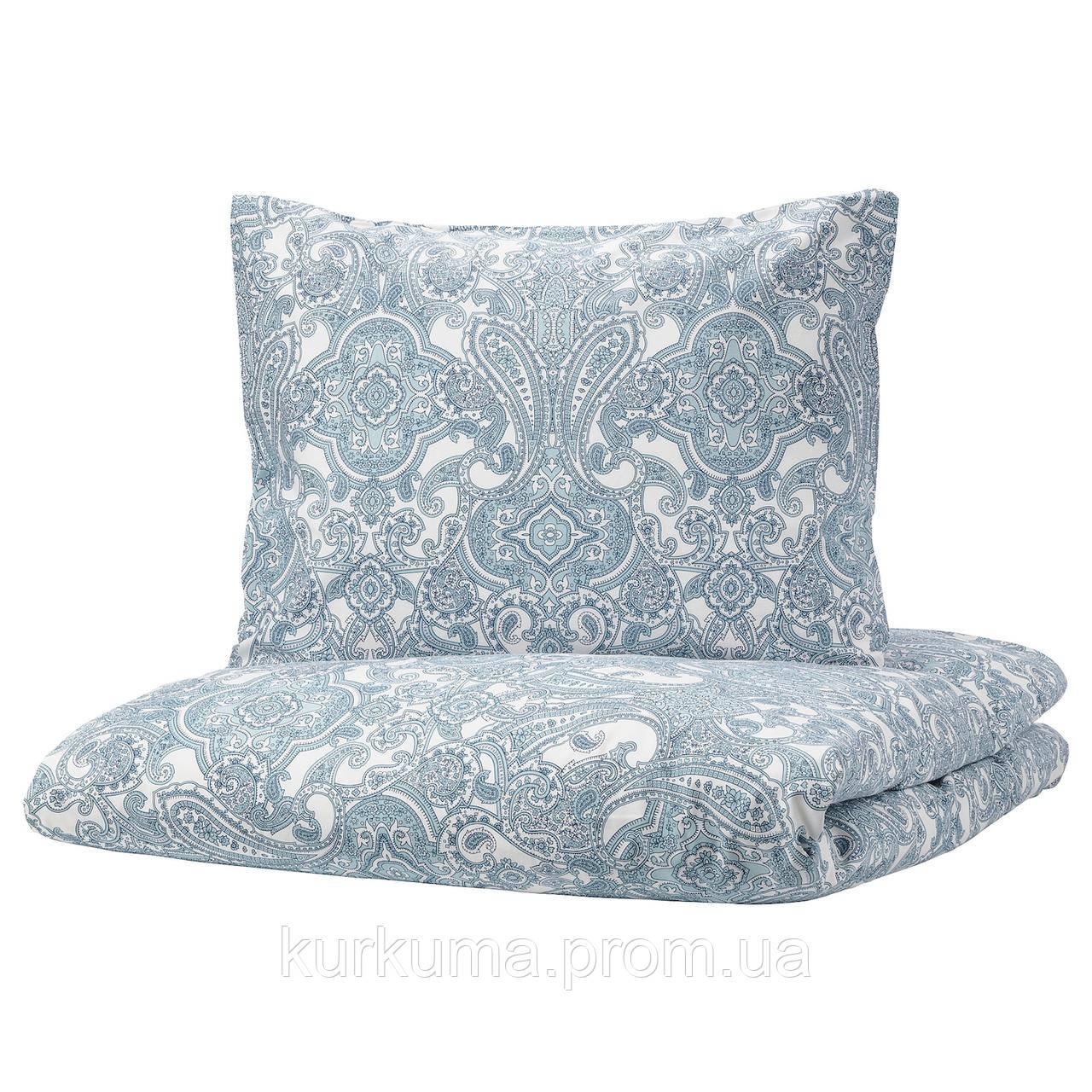 IKEA JATTEVALLMO Комплект постельного белья 150x200/50x60 см (503.997.09)
