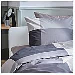 IKEA BRUNKRISSLA Комплект постельного белья 150x200/50x60 см (903.755.46), фото 3