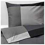 IKEA BRUNKRISSLA Комплект постельного белья 150x200/50x60 см (903.755.46), фото 4