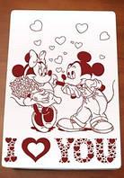 Шоколадная открытка к 14 февраля