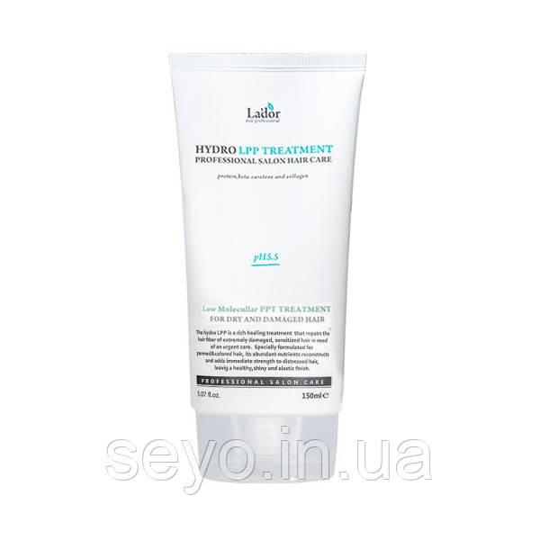 Восстанавливающая маска для сухих и поврежденных волос Lador Eco Hydro Lpp Treatment, 150 мл