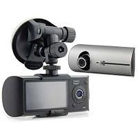 Видеорегистратор X300 mini, две камеры, модуль GPS