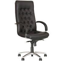 Кресло для руководителя FIDEL (ФИДЕЛЬ) LUX STEEL CHROME, фото 1