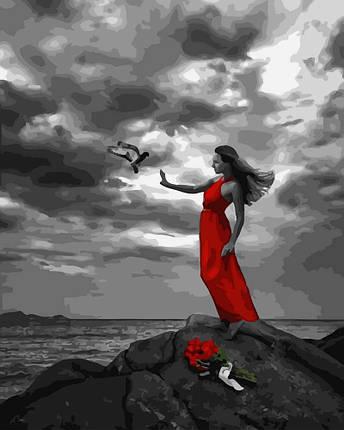 Картина по Номерам 40x50 см. Наедине с ветром Rainbow Art, фото 2