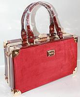 Женская лакированная сумка 917 Red Сумки женские лакированные. Купить выгодно