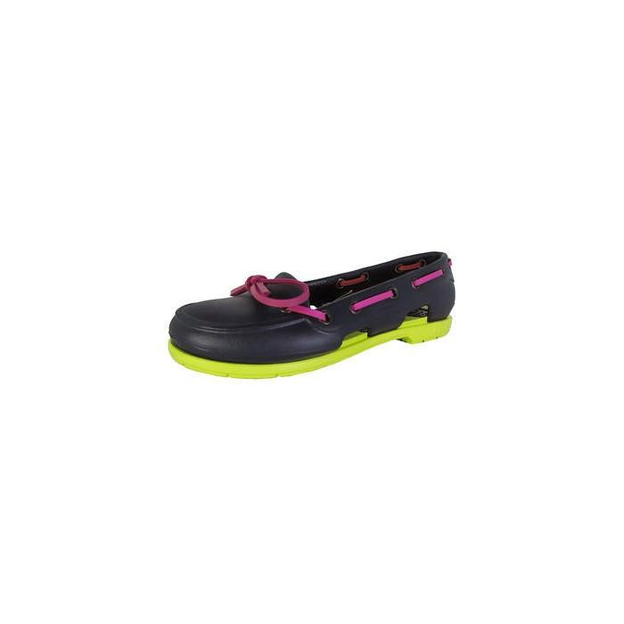 Мокасины Crocs женские Beach Line Boat Shoe темно-синие 39 разм.