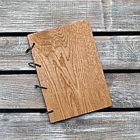 Блокноты с деревянной обложкой. На кольцах А5. (А00622), фото 1