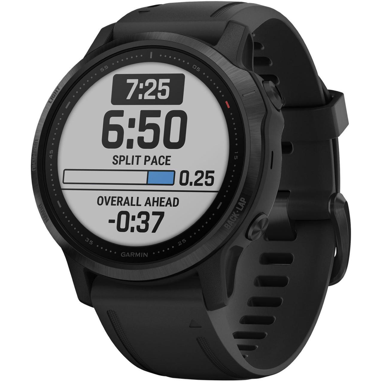 Спортивные часы Garmin Fenix 6S Pro Black