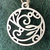 Деревянные новогодние украшения Shasheltoys 9 см (010259)