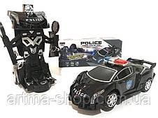 Машина трансформер Полицейская Police Warrior robot