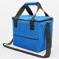 Термосумка (сумка-холодильник) 10л (полиэстер, р-р25х25х16см), фото 1