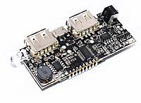 Контроллер павербанка 2 USB 5В 1А 2.1А для 18650 аккумуляторов