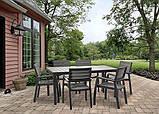 Набор садовой мебели Harmony 6-Seat Dining Set ( Allibert by Keter ), фото 4