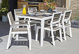 Набор садовой мебели Harmony 6-Seat Dining Set ( Allibert by Keter ), фото 8