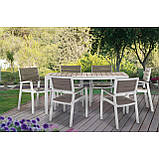 Набор садовой мебели Harmony 6-Seat Dining Set ( Allibert by Keter ), фото 9