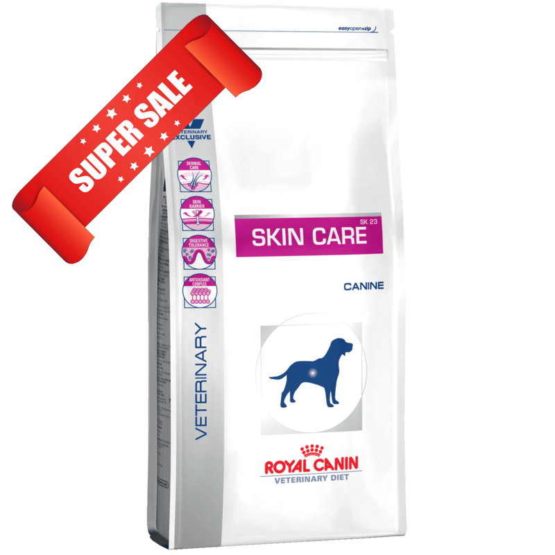 Лечебный сухой корм для собак Royal Canin Skin Care Adult Canine 2 кг