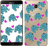 """Чехол на Samsung Galaxy A9 Pro Слоники """"4541u-724-25032"""""""
