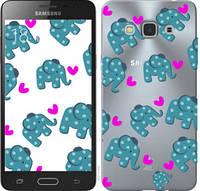 "Чехол на Samsung Galaxy J3 Pro Слоники ""4541u-840-25032"""