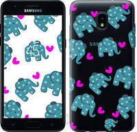 "Чехол на Samsung Galaxy J3 2018 Слоники ""4541u-1501-25032"""