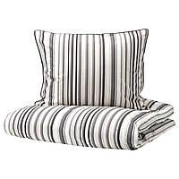 IKEA RANDGRAS Комплект постельного белья 200x200/50x60 см (704.389.60), фото 1