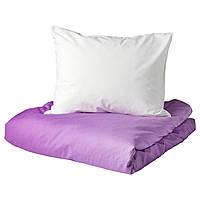 IKEA STRANDTRIFT Комплект постельного белья 150x200/50x60 см (704.390.40), фото 1