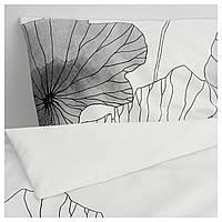 IKEA TRADLJUNG Комплект постельного белья 150x200/50x60 см (204.485.08), фото 1