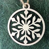 Деревянные новогодние украшения Shasheltoys 9 см (010263)