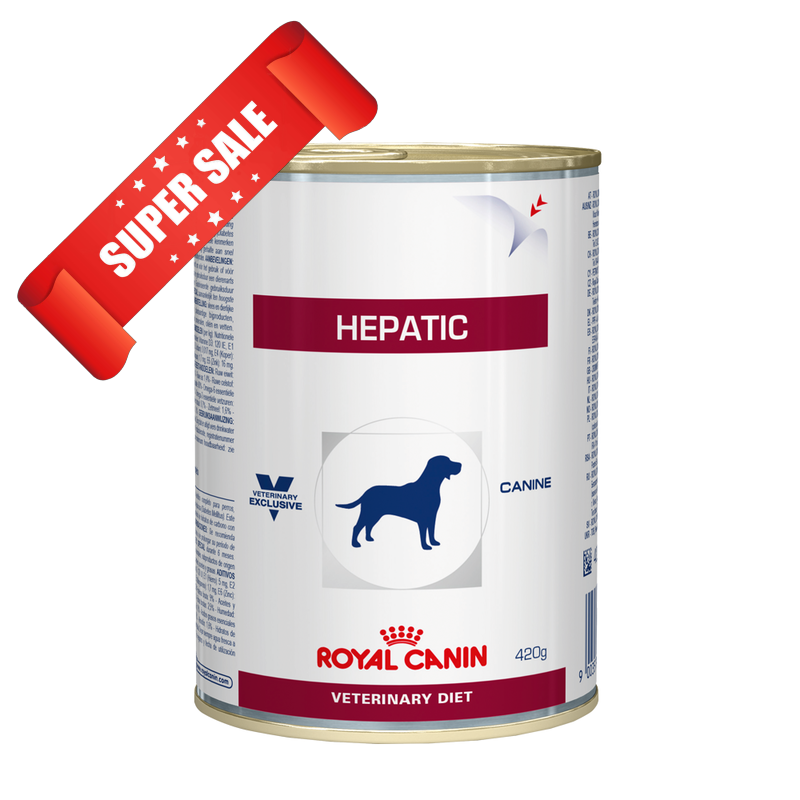 Лечебный влажный корм для собак Royal Canin Hepatic 420 г