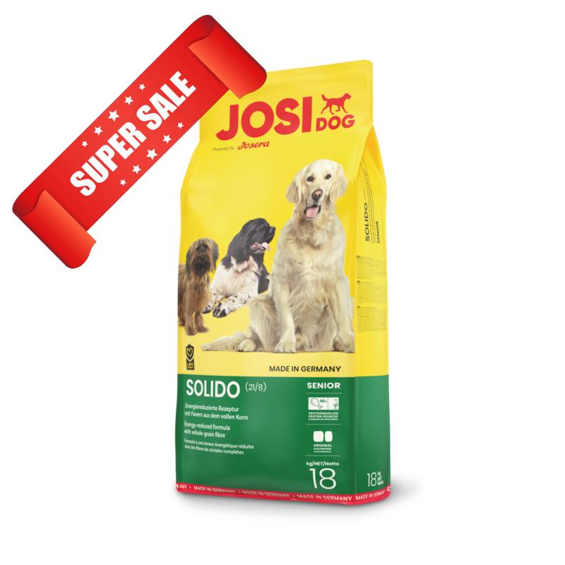 Сухой корм для собак JosiDog Solido 18 кг