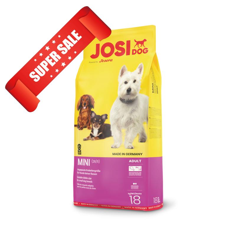Сухой корм для собак JosiDog Mini 18 кг