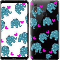 """Чехол на Huawei Honor Note 10 Слоники """"4541u-1558-25032"""""""