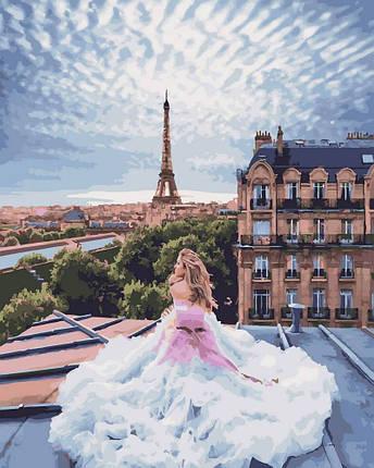 Картина по Номерам 40x50 см. Парижские мечты Rainbow Art, фото 2