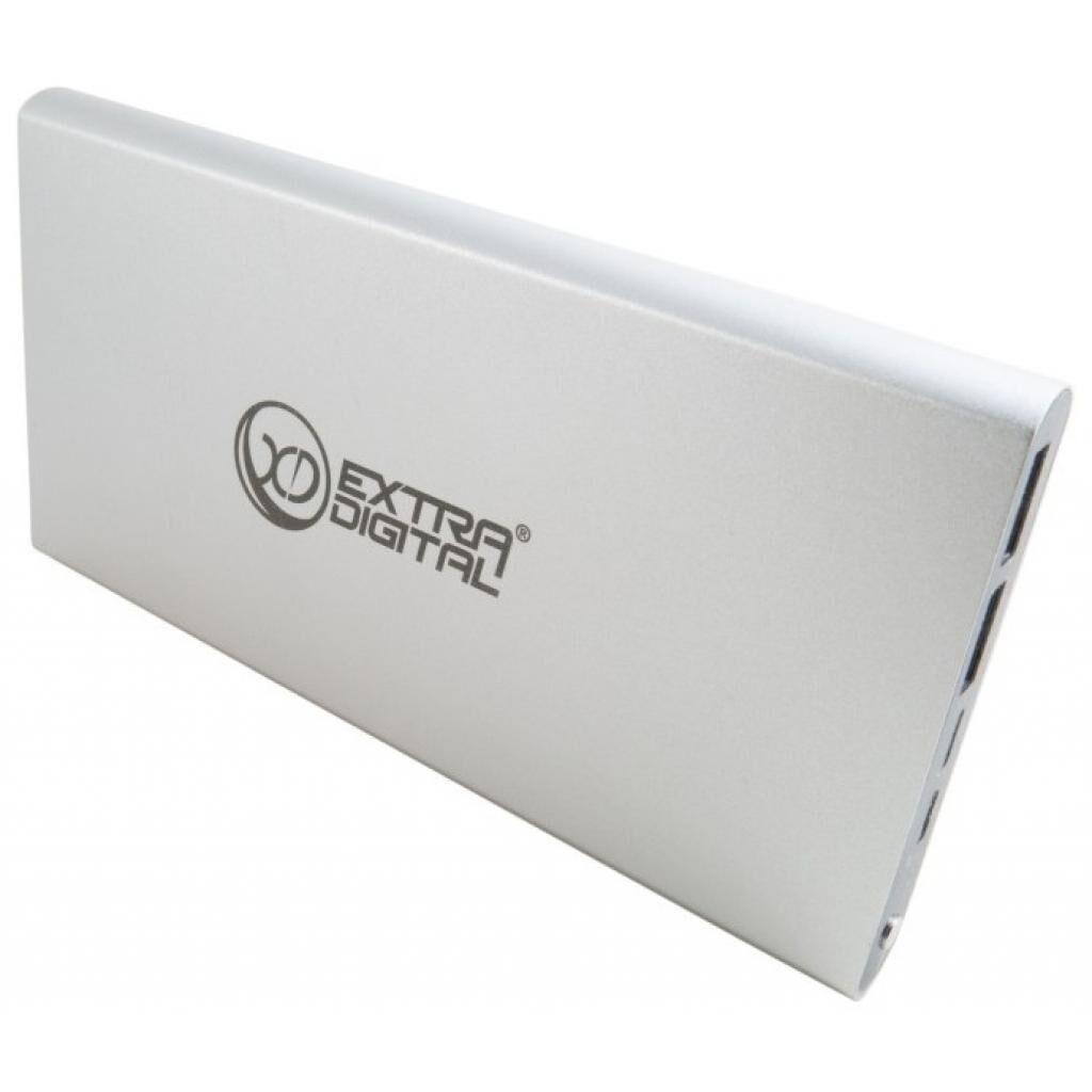 Батарея универсальная EXTRADIGITAL YN-012 (12 000 mAh, input microUSB+Lightinihg) (PBU3420)