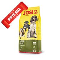Сухой корм для собак JosiDog Lamb Basic 18 кг