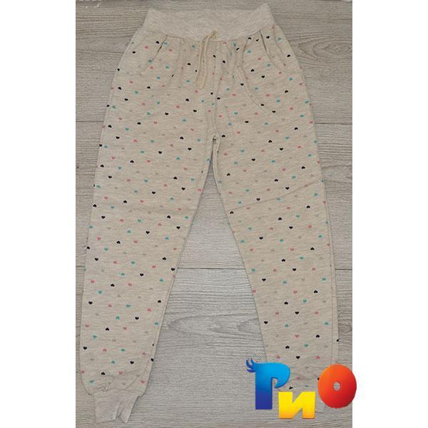 Детские  штаны на байке,  для девочек, 9-10 лет (1 ед в уп)