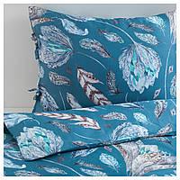 IKEA KRYDDSALVIA Комплект постельного белья 150x200/50x60 см (204.309.71), фото 1