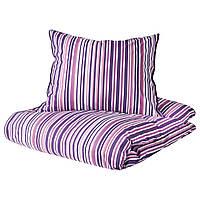 IKEA RANDGRAS Комплект постельного белья 200х200/50х60 см (604.365.65), фото 1
