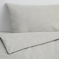IKEA STRANDPRYL Комплект постельного белья 200x200/50x60 см (404.484.18), фото 1