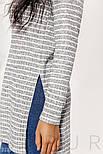 Трикотажное платье-туника в полоску, фото 3
