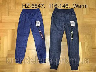 Спортивные брюки с начесом для мальчиков , Active Sport (рост 116-146)