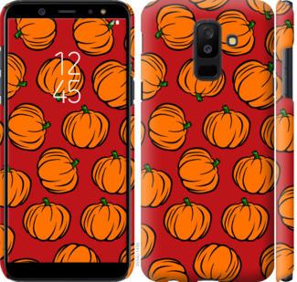"Чехол на Samsung Galaxy A6 Plus 2018 Тыквы ""4554c-1495-25032"""