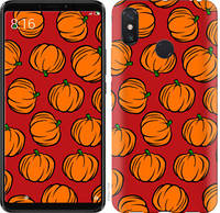 "Чехол на Xiaomi Redmi Note 8 Тыквы ""4554u-1787-25032"""
