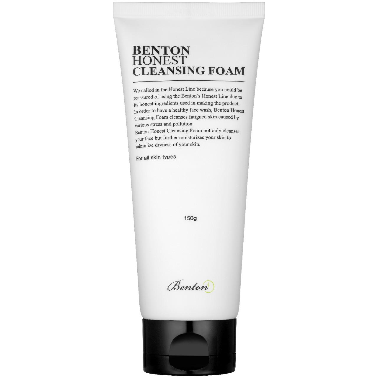 Очищуюча пінка для умивання Benton Honest Cleansing Foam