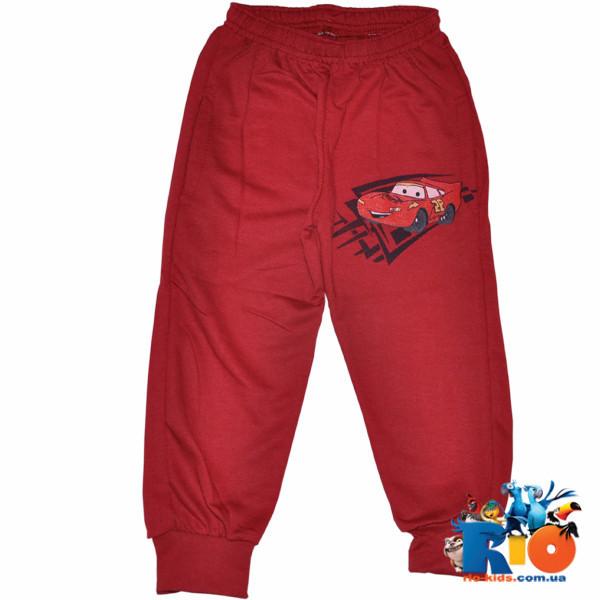 Спортивные штаны с карманами,тонкий трикотаж (100% cotton), для мальчика 1-4 года (4 ед в уп)